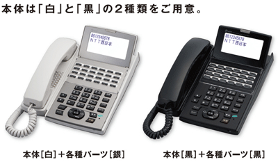 NTT・αNXⅡの多機能電話機