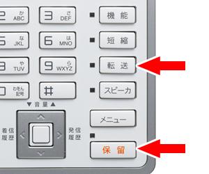 ビジネスフォンの【保留】【転送】機能について
