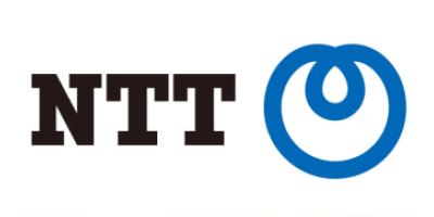 ビジネスフォンの販売会社であるNTTのロゴマーク